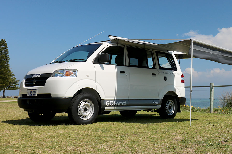 Eco Camper Van for Backpackers