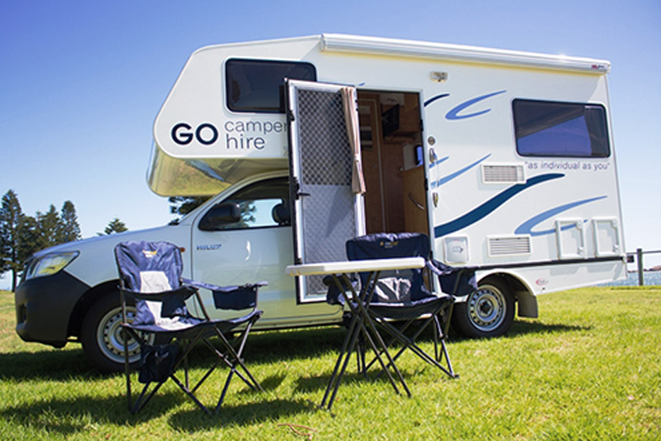 2 Berth Auto Motorhome Hire