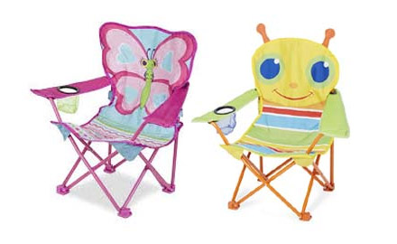 Kids Camping Chairs for Campervan