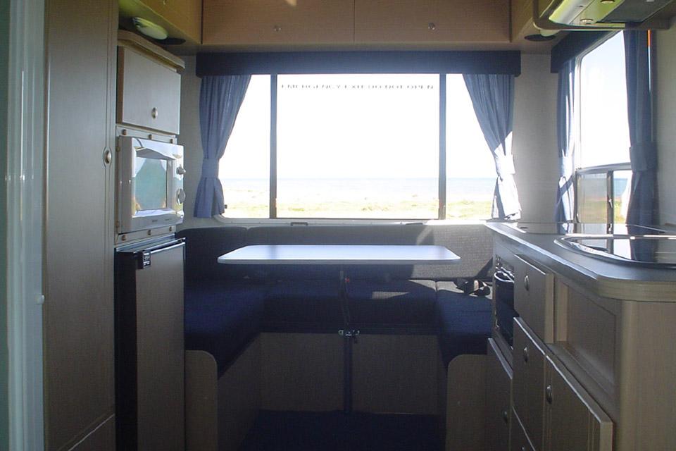 4 Berth Campervan Hire WA
