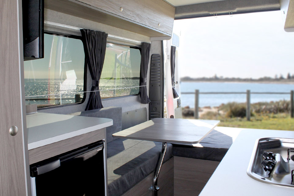 Fiat Campervan Dining Table
