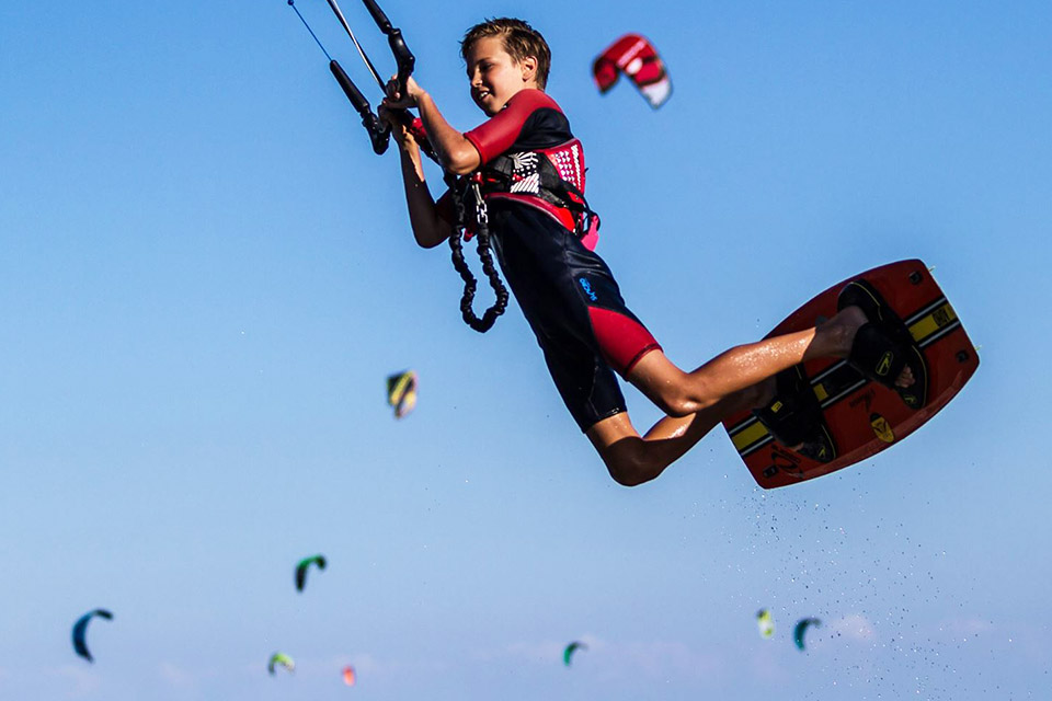 Kids Kiteboarding WA