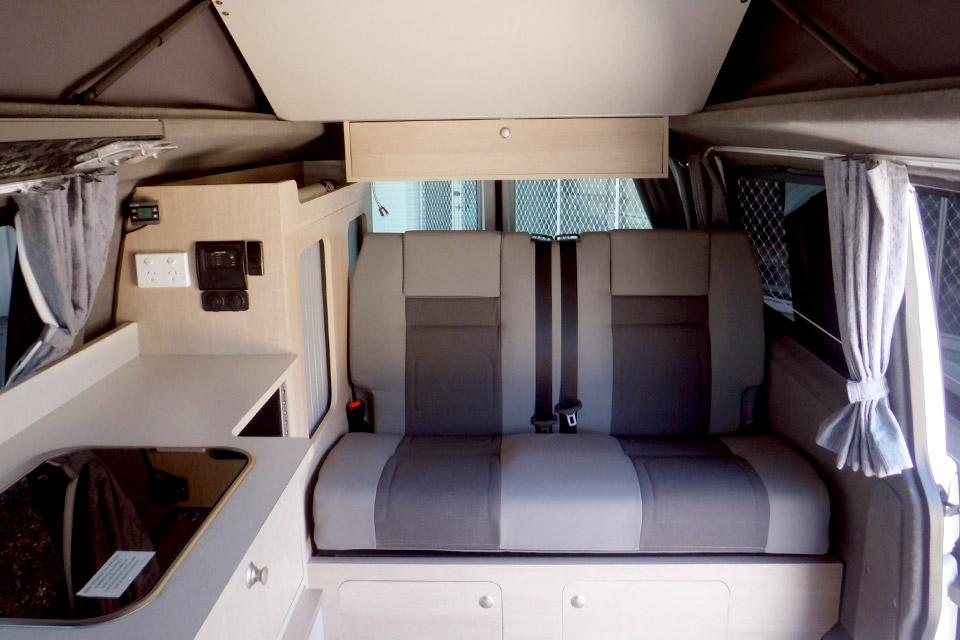 VW Pop Top Campervan Hire